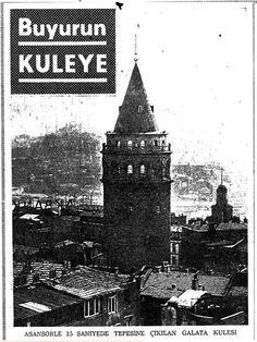 """""""Beş lirayı veren İstanbul'u tepeden görecek."""" (1967)"""