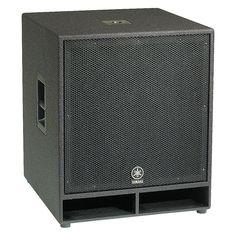 """Yamaha CW118V 18"""" Club Concert Series Subwoofer Speaker"""