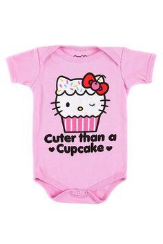 Hello Kitty cuter than a cupcake