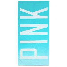 Victoria's Secret Beach Towel ($20) ❤ liked on Polyvore featuring home, bed & bath, bath, beach towels, towels, accessories, other, furniture, random and victoria's secret