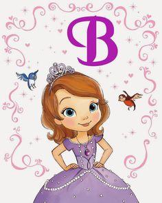 Alfabeto de la Princesa Sofía.