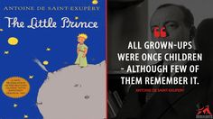 Antoine de Saint-Exupery: All grown-ups were once children — although few of them remember it.  More on: http://www.magicalquote.com/book/the-little-prince/ #AntoinedeSaintExupery #TheLittlePrince