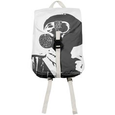 Shop GAS MASK 5 Rucksack by THE GRIFFIN PASSANT STREETWEAR STREETWEAR | Print All Over Me