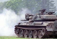 Tank firing its main gun!