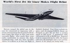 Golden Oldies: De Havilland Comet