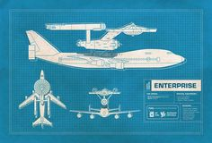 Star Trek (TOS) Ship comparisons ---> Boeing 747. Is this accurate!?!