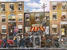 frank morrison amerique - Page 7 African American Art, American Artists, African Art, Frank Morrison Art, Body Painting Festival, Maori Art, Social Art, Black Artwork, Brown Art