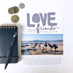We're so happy to share the projects created by our awesome Creative Team using the For The Love Digita. Digital Story, Diy Scrapbook, Scrapbook Layouts, Ali Edwards, Memory Album, Love People, Travelers Notebook, Project Life, Happy Friday