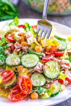 This garden fresh Herbed Tuna Salad is a meal, a delicious fresh and amazing meal. It's also a wonderful way to use your home grown vegetables from the garden. This dinner or lunch salad recipe has lot's of options. Not especially partial to one of the vegetables in the salad ingredients, switch it out for one you love. If tuna isn't your thing, try canned chicken instead or leftover cooked chicken or ham from a previous meal. Versatility abounds in this delicious tuna salad recipe. It can…