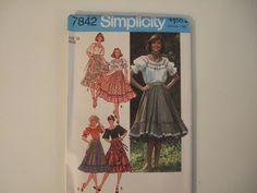 Simplicity 7842 size 18 Uncut