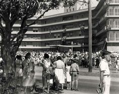 Opening of Sutherland Hospital,in southern Sydney on 2 April 1958.