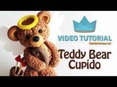 Tutorial – Teddy Bear Cupid | Cake Dutchess