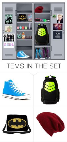 """""""My Dream Locker"""" by breasubj ❤ liked on Polyvore featuring art"""