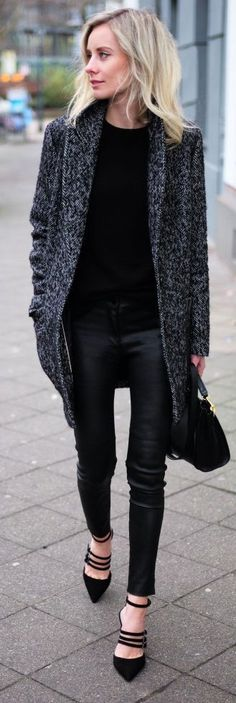Black Outfit Style