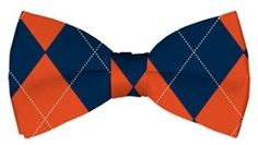 Navy & Orange Argyle Mens Bow Tie by Loudmouth Golf.  Buy it @ ReadyGolf.com Recreational Activities, Mens Golf, Men's Apparel, Bow Ties, Bows, Wedding Ideas, Style Inspiration, Pure Products, Navy