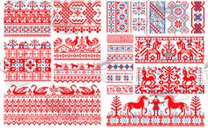 Russian embroidery designs