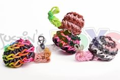 Rainbow Loom Advanced 3d Snail Charm - Spiral Mushroom