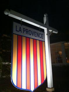 Front Restaurant Sign  At Chef John Besh's La Provence Restaurant In Lacombe, Louisiana.