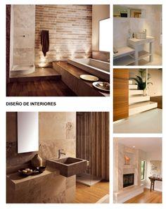 Interesante dise o de contraste de claros y oscuros y piso - Disenos en marmol ...