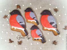 Купить Снегири - ярко-красный, снегирь, снегири, с новым годом, Новый Год, новый год 2015