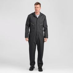 Dickies Men's Deluxe Long Sleeve Blended Twill Coverall-