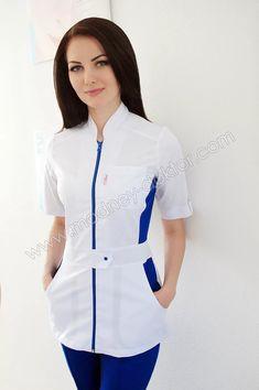Imagem relacionada Spa Uniform, Scrubs Uniform, Dental Scrubs, Medical Scrubs, Staff Uniforms, Medical Uniforms, Kathryn Bernardo Outfits, Scrubs Pattern, Stylish Scrubs
