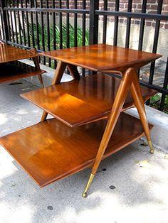 Mid-Century table set | strayvintage