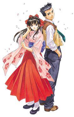 Manga Anime, Sakura, Character Design, Japanimation, Sakura Wars, Old Anime, Anime Drawings, Anime Style, 90 Anime