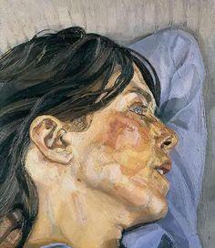 Woman in Profile by Lucian Freud