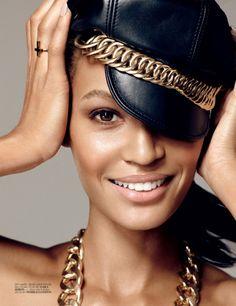 Vogue Turkey - Joan Smalls - Cuneyt Akeroglu - 2013. Makeup by Lisa Eldridge http://www.lisaeldridge.com/gallery/editorial/ #Makeup #Beauty #Fashion