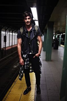 Casual done well. #SubwayStyle