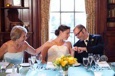 "Julia & Scott: Mini wedding celebration -- ""I'll show you my ring . . ."""