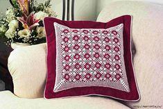Вяжем скатерти и украшаем подушку крючком. Схемы (1) (698x467, 326Kb)