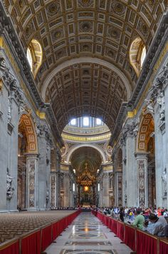St. Peter's Basilica - mass with the Pope on Christmas Eve - at the top of my bucket list