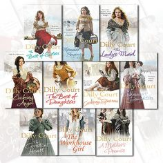 Dilly Court 10 Books Collection Set Set at Best Price.  #Books #Fiction #Romance #BookCollection