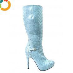 Cizme de dama blue Montana Montana, Heels, Boots, Fashion, Crotch Boots, Moda, Flathead Lake Montana, High Heels, Shoe Boot