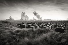 Paul Mitchell's South Gare, taken in Teesside, England, was the Landscape Photographer of the Year - Urban View Category Winner 2015 Documentary Photographers, Best Photographers, Landscape Photographers, Space Photography, Industrial Photography, White Photography, Travel Photography, Photography Competitions, Photography Awards