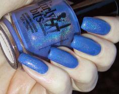 Green, Glaze & Glasses: Blue Friday - Girly Bits Bachelor's Button