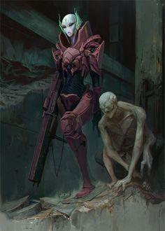 Guide, Yuriy Chemezov on ArtStation at https://www.artstation.com/artwork/guide-05afc2f5-c2e6-4be1-be79-6a7f171e4608