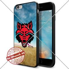 WADE CASE Arkansas State Red Wolves Logo NCAA Cool Apple iPhone6 6S Case #1032 Black Smartphone Case Cover Collector TPU Rubber [Breaking Bad] WADE CASE http://www.amazon.com/dp/B017J7IS1O/ref=cm_sw_r_pi_dp_Jnkywb0FK643V