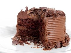 Extreme Chocolate Cake Recipe from 15 Best Chocolate Cake Recipes (Slideshow) Extreme Chocolate Cake, Amazing Chocolate Cake Recipe, Best Chocolate Cake, Chocolate Recipes, Big Chocolate, German Chocolate, Decadent Chocolate, Chocolate Coffee, Chocolate Lovers
