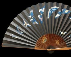Japanese fans, often renowned for their exquisite beauty, are made of paper on a bamboo frame, usually with a design painted on them...Google Image Result for http://www.japansociety.org.uk/wp-content/uploads/2009/09/fan2.jpg