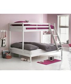 White Single And Double Bunk Bed With Bibby Mattress. At Homebase    Be  Inspired And Make Your House A Home. Buy Now.