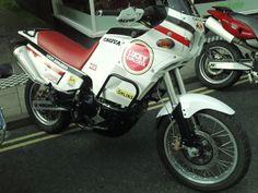 Ducati engined Cagiva Elefant 900.