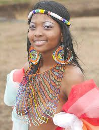 Zulu woman with traditional beads African Tribal Girls, Tribal Women, African Women, Native Girls, African Beauty, African Fashion, Beautiful Black Women, Beautiful People, Zulu Women