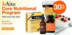 InVite Health's Core Nutritional Program!  #vitamins #supplements #nutrition #invitehealth #health #gethealthy  http://www.invitehealth.com/core-program/targeted-program/