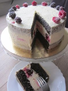 Cake Recept, Character Cakes, Little Cakes, Frosting Recipes, Coffee Cake, Let Them Eat Cake, Yummy Cakes, Sweet Recipes, Cake Decorating