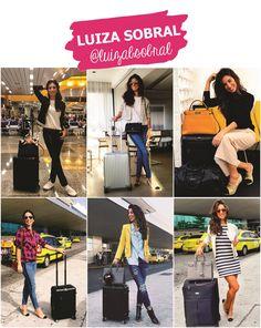 Looks de aeroporto de LUIZA SOBRAL  #aerolook