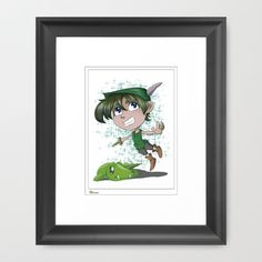 Get your #peter_pan #framed #art from here!!! #eycartoons #society6