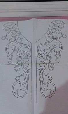 embroidery pattern bodice More